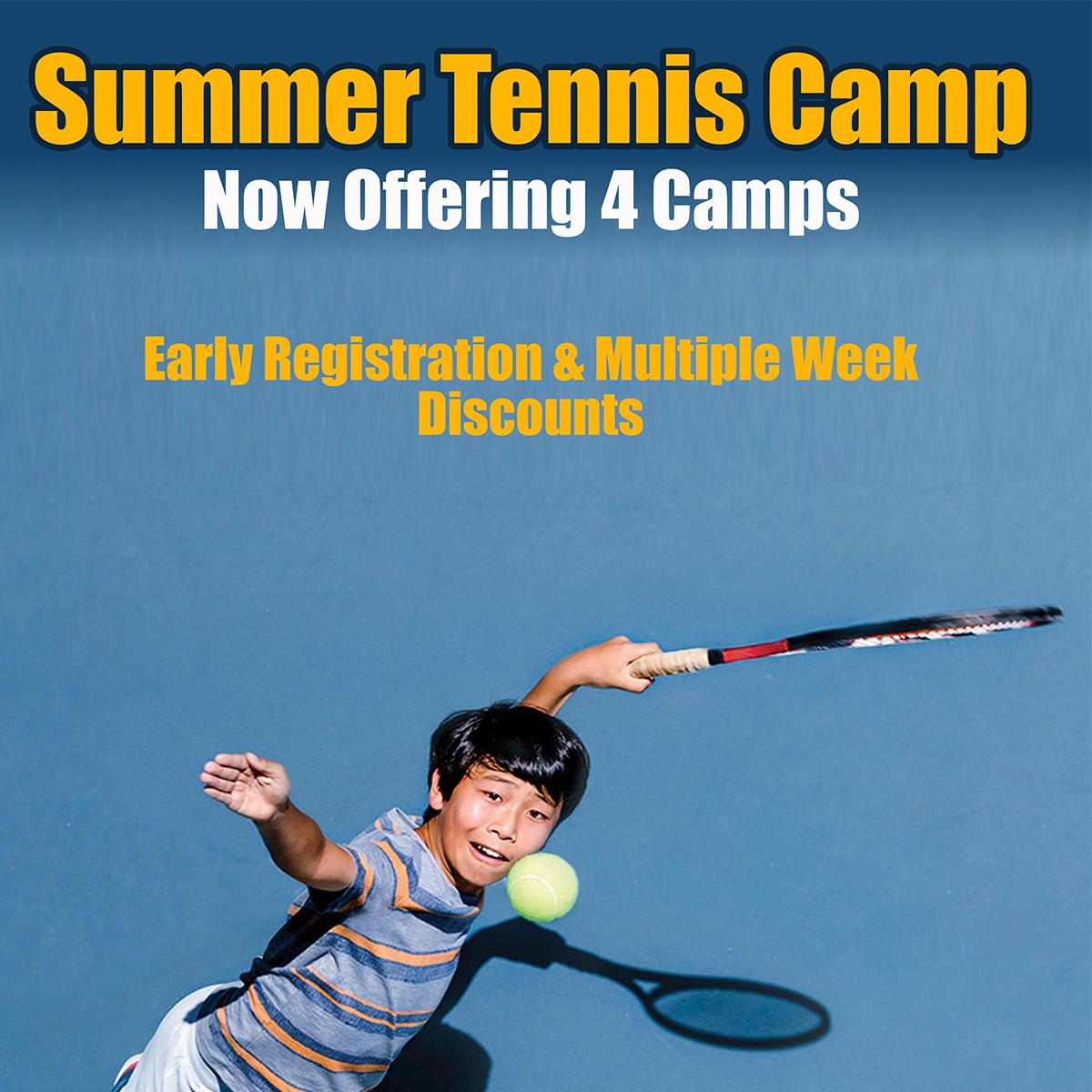 Summer Camp, Tennis lessons, tennis instruction, kids tennis,