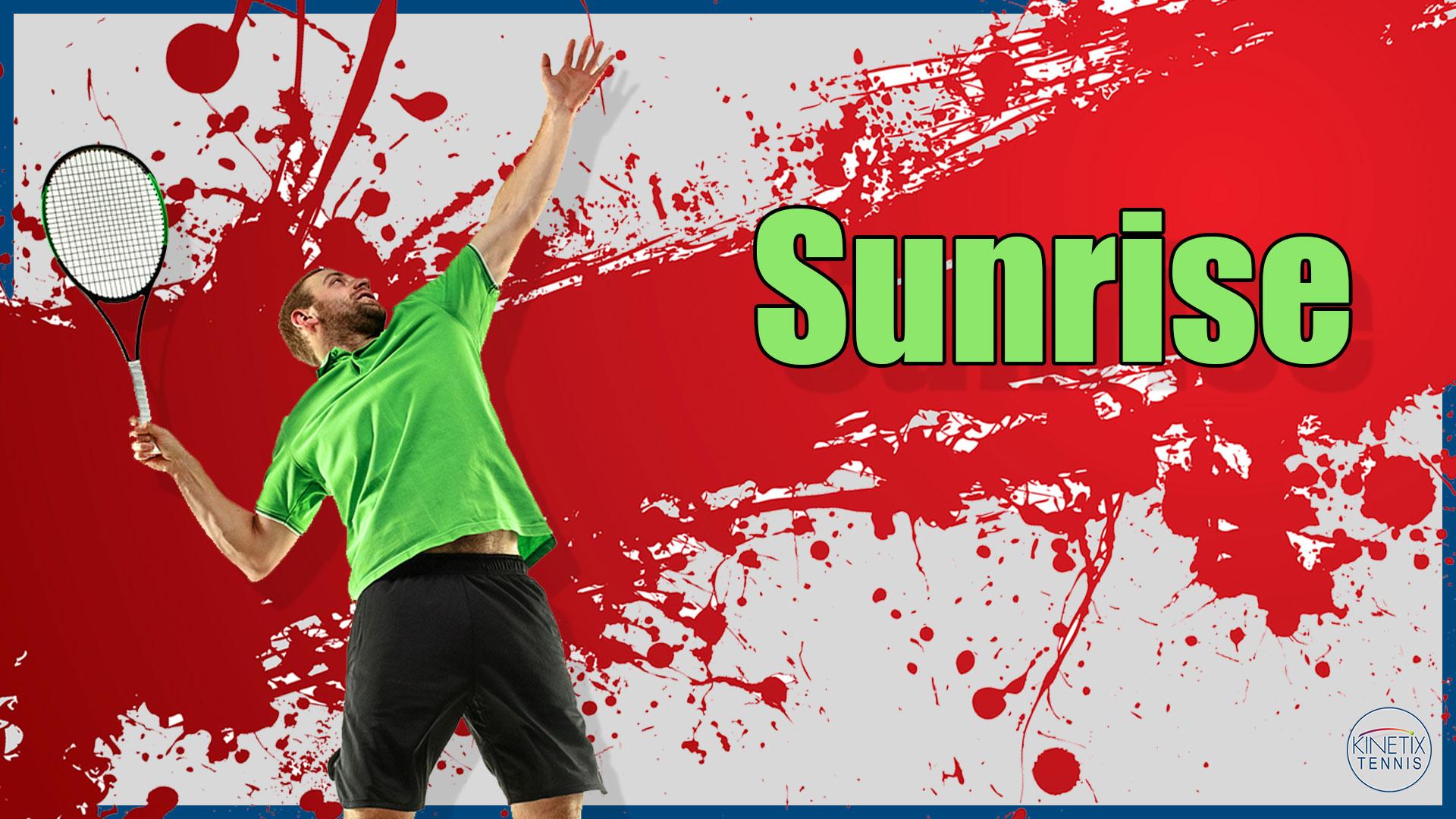 Sunrise Tennis
